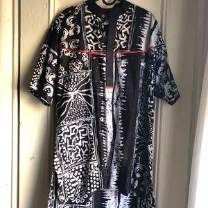 Afropunk Vibe Cotton African Hi-low Tunic